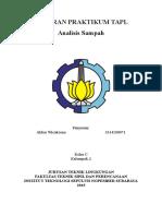 Laporan Praktikum Sampah a3