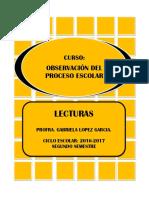 Antologia de Observacion Del Proceso Escolar (1)