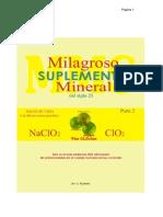 Milagroso Suplemento Mineral Del Siglo XXI Parte 2