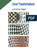 2D Geomerical Transformation