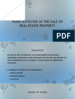 Taxes Involved in the Sale of Real Estate