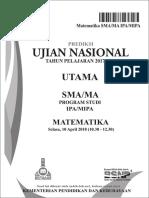 Siap UN SMA 2018 Paket 1 Fix