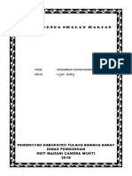 Buku Agenda Shalat Harian