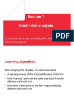 7. Credit Risk Analysis