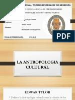 La Antropologia Cultural