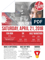 2018 RFM Registration