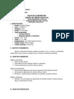Planificación 1ero D [Electricidad]