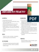 Cemento Andino TIPO IP 1