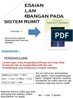 Chapter 11 Kimia Analisis