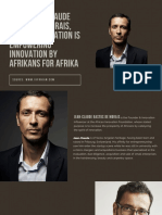 Jean-Claude Bastos de Morais Foundation is Empowering Innovation by Afrikans for Afrika