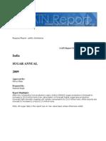 Commodity Report SUGAR ANNUAL New Delhi India 4-8-2009