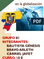 Ecuador en La Globalización