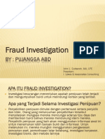 Investigation Fraud