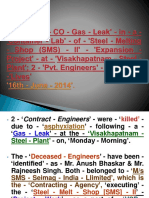 A - 'CO - Gas - Leak' - In - 'Visakhapatnam - Steel - Plant'; a - 'Case - Study' - 'R - 1'