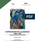 Expresionistas alemanes