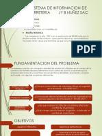 Sistema de Informacion de Ferreteria Jy b Nuñez