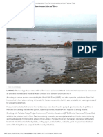 Heavily Polluted River Ravi Threatens Citizens' Lives _ Pakistan Today