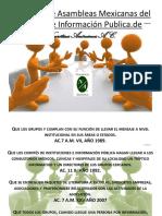 Acuerdos de Asambleas Mexicanas Del Comité de Información Al 2017
