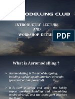 Introduction to Aeromodelling Club