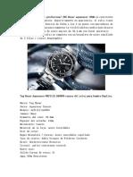 2018 Replica Reloj Revision -TAG Heuer Aquaracer 300M WAF1110.BA0800