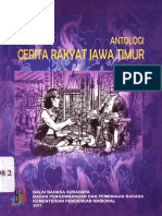 Antologi Cerita Rakyat Jawa Timur