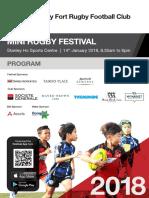 VFT MiniRugbyFestival2018 Program-11.1.18