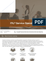 ITIL Service Operation Ver-1.2