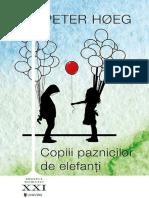 Peter Hoeg - Copiii Paznicilor de Elefanti