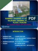 259543743 Presentation of Turbine Erection 1