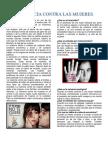 DatoVIOLENCIAs y Cifras Vilencia Contra La Mujer