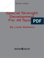 Special Strength Development for All Sports Louie Simmons