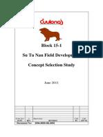 2006-0000-0K-0001, SN Concept Selection Study, Rev A