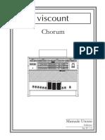 Chorum IT (IT) v12 manuale utente viscount