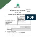 VAT Registration Application1