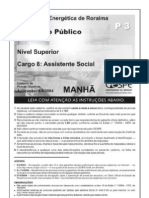 CIA ENERGÉTICA DE RORAIMA - CESPE