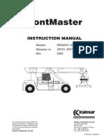 Instruction Manual 45572-73 (Kalmar 1)