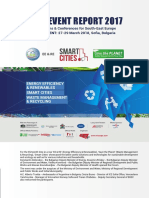 "Post Event Report from 2017 edition of Exhibitions ""Energy Efficiency & Renewables"", ""Smart Cities"", ""Save the Planet"""
