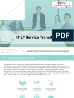 ITIL Service Transition - Invensis Learning