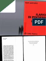 Trinitá 2 Illario di Poitiers
