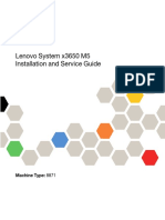 Lenovo System x3650 M5 Installation and Service Guide