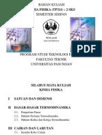 Tpe122-Kimia Fisik (Pendahuluan)
