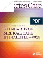2018 ADA Standards of Care