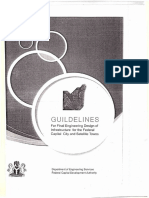 GUILDELINES for Final Engineering Design of Infrastructure for the Federal Capital City and Satellite Towns