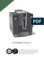 Manual Jura Impressa c9