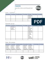 production schedule radio drama