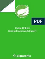 Ementa Curso Online SFE