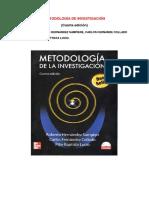 Metodología de Investigación Sampieri