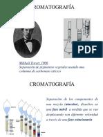 Semana N°10 - Separaciones Cromatografia