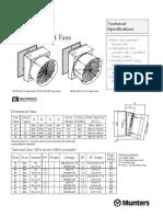 Catálogo WF50 Munters