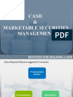 Cash & Marketable Securities Mgmt (2)